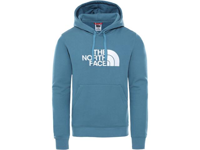 The North Face Drew Peak Sudadera con capucha Hombre, mallard blue/TNF white